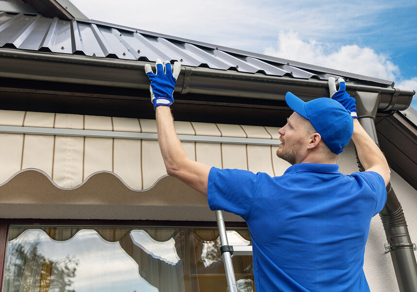 gutter guards maintenance near me